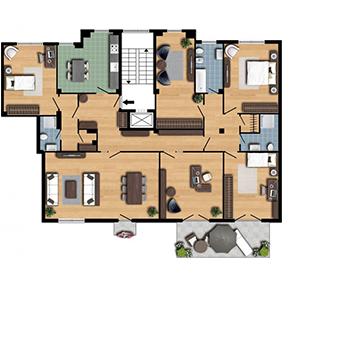 Planimetria top planimetria casa prontacasa thumb prontacasa - Planimetria casa ...