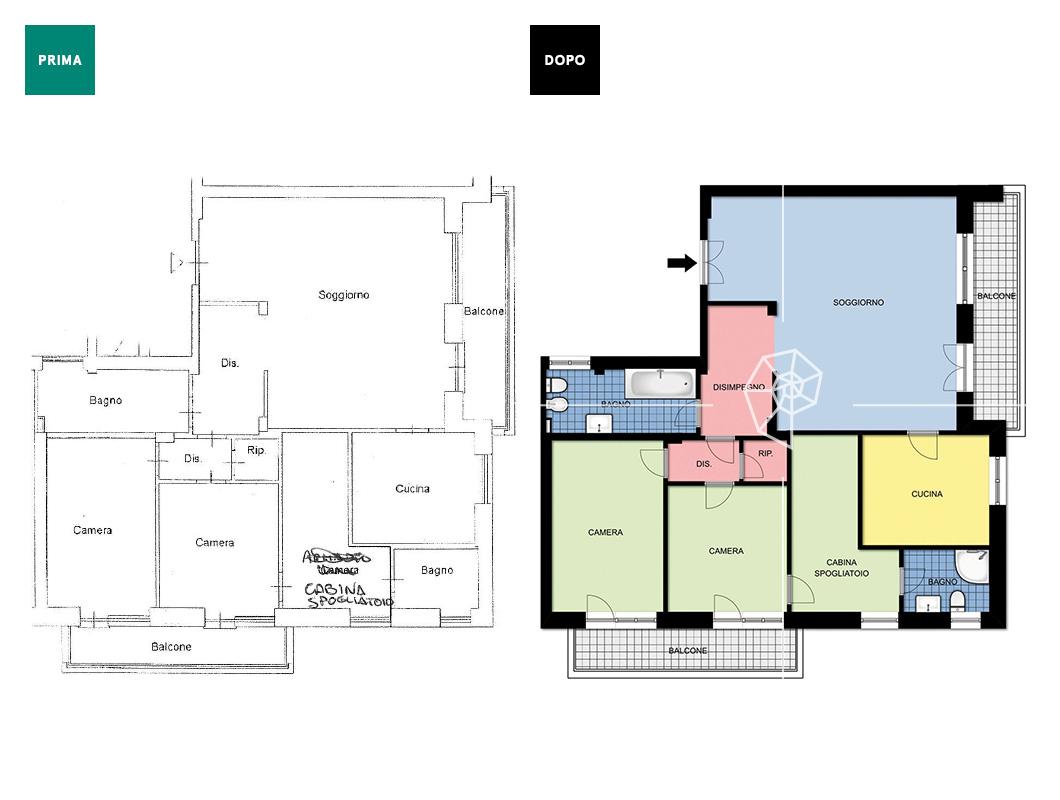 Planimetrie basic galleria dei lavori prontacasa for Planimetrie casa gratis