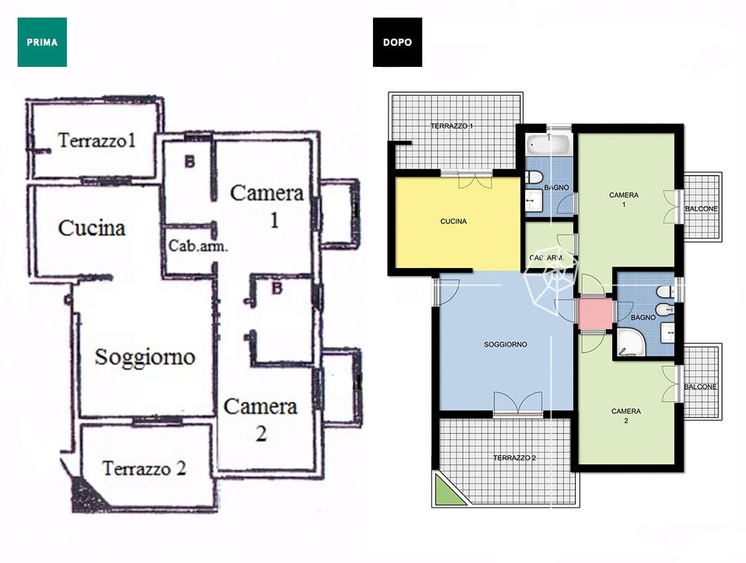 Planimetria basic planimetria casa prontacasa 019 prontacasa - Planimetria casa ...