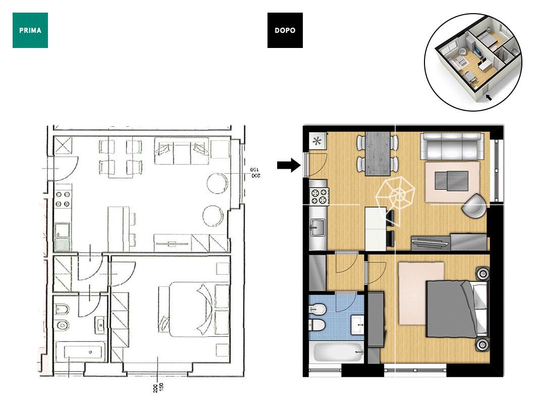 Planimetria medium planimetria casa prontacasa 007 - Planimetria casa ...