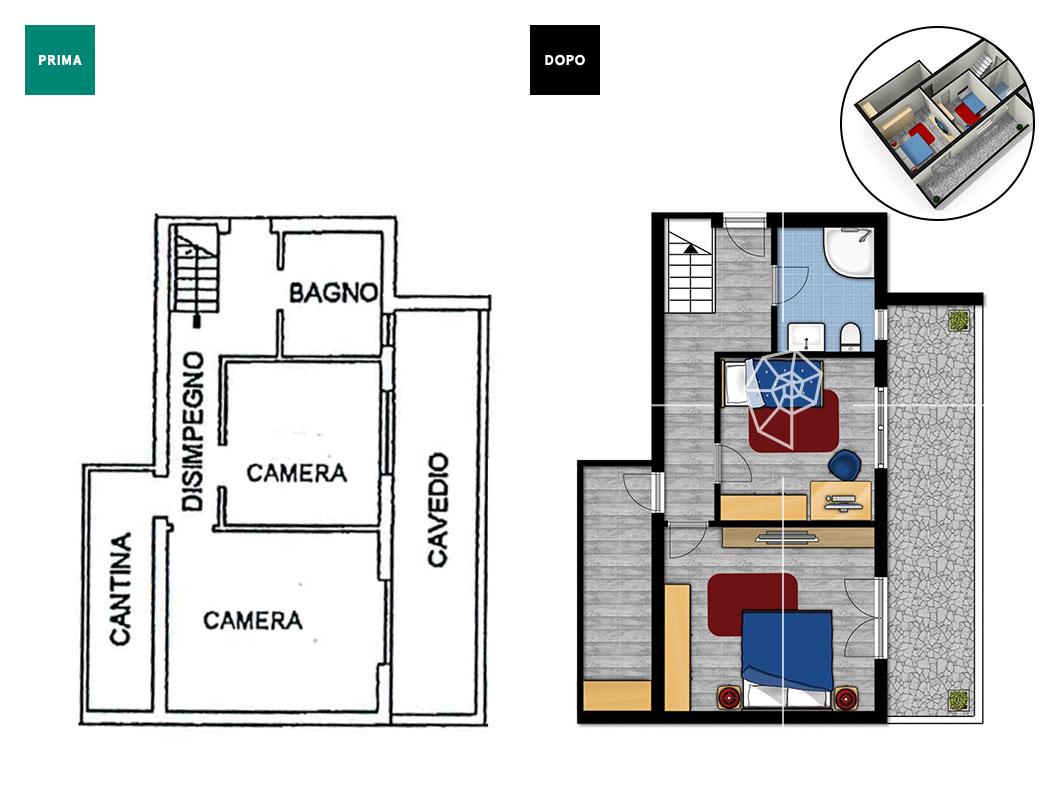 Planimetria medium planimetria casa prontacasa 021a - Planimetria casa ...