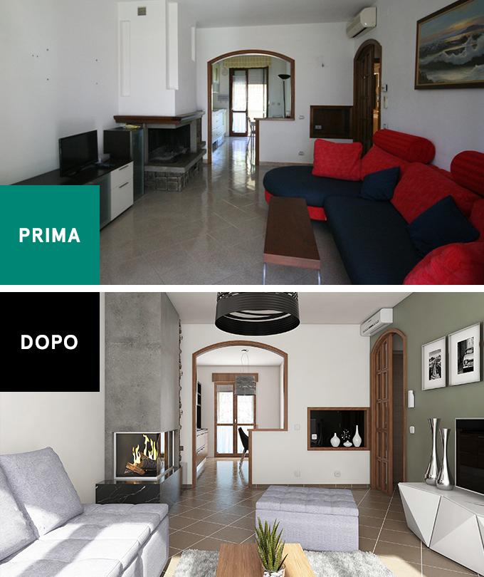 3d home staging prontacasa scegli il servizio che ti fa vendere di pi. Black Bedroom Furniture Sets. Home Design Ideas